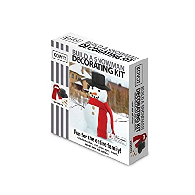 KOVOT Build a Snowman Decorating Kit - 13 Pieces Included! by Kovot