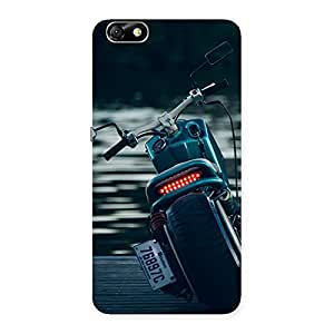 Bike Chopper Multicolor Back Case Cover for Honor 4X