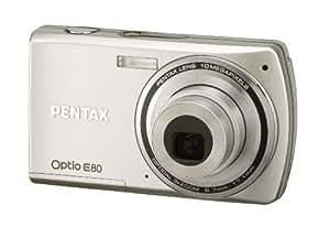 PENTAX デジタルカメラ Optio E80 1000万画素 光学3倍ズーム 単三電池仕様 OPTIOE80
