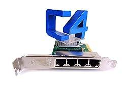 HP 593722-B21 NC365T 10GB Quad Port Gigabit Network Adapter