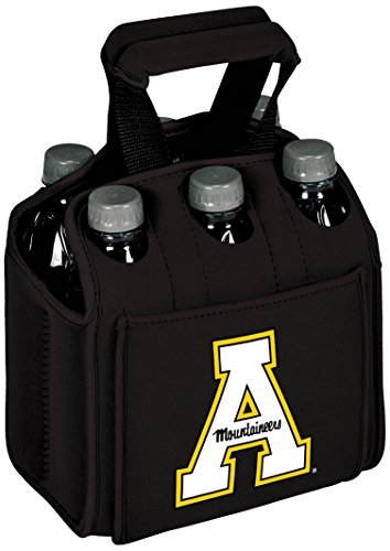 picnic-time-appalachian-state-6-pack-cooler-caddy-tote