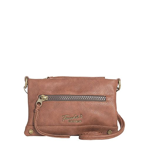 Frankies Garage Borsa Messenger, Marrone (Marrone) - NJ115100045-Brown