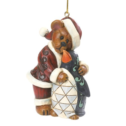 Boyds Bears Jolly Ol' Klausbeary with Waddles Ornament 2013 Collection