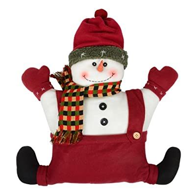 "Christmas Snowman Cushion 19"" x 17"""