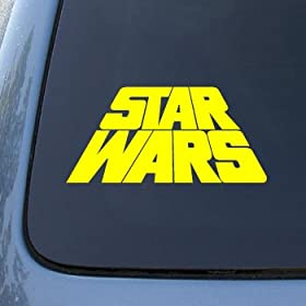 Star Wars Car Window Decal - Star Wars