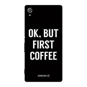 Voila Coffee Ok First Back Case Cover for Xperia Z4