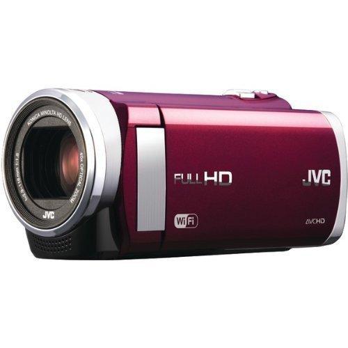 Jvc 1.5-Megapixel 1080P High-Definition Everio Digital Video Camera (Red) Gzex210Rus