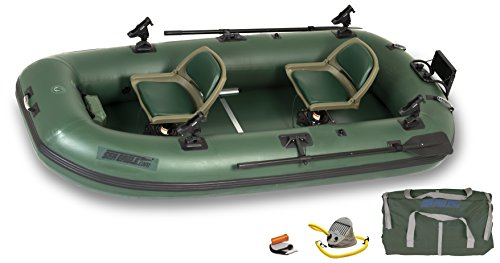 Sea Eagle StealthStalker STS10 Frameless Green Fishing Boat