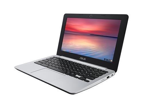ASUS C200 Chromebook 11.6 Inch (Intel Celeron, 2 GB, 16GB SSD, Black/Silver)