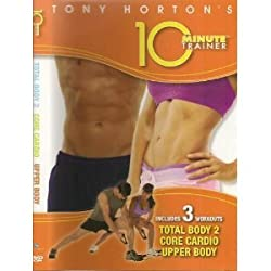 Tony Horton's 10 Minute Trainer (Includes 3 Workouts: Total Body 2, Core Cardio, and Upper Body)