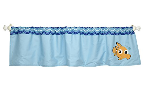 Disney Nemo Wavy Days Window Valance