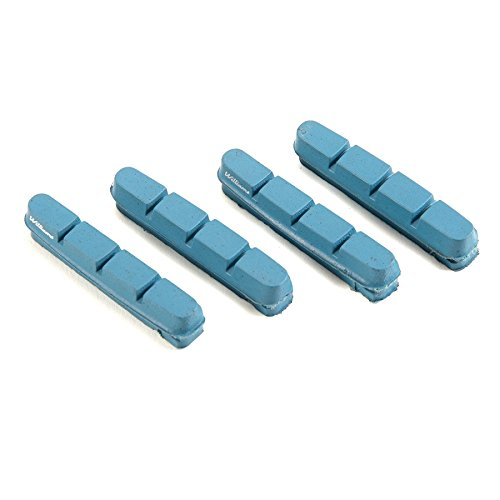 Williams Cycling Road Brake Pads for Carbon Rims - Shimano/SRAM, Blue (Carbon Pads compare prices)