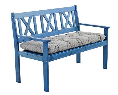 ambientehome massivholz bank gartenbank evje holzbank sitzbank 1 08 meter inkl sitzkissen. Black Bedroom Furniture Sets. Home Design Ideas