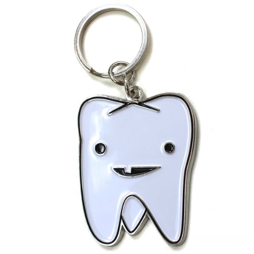 Tooth Keychain by I Heart Guts