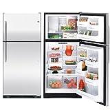 GE冷蔵庫トップフリーザーGTS18SB大型ステンレス冷蔵庫