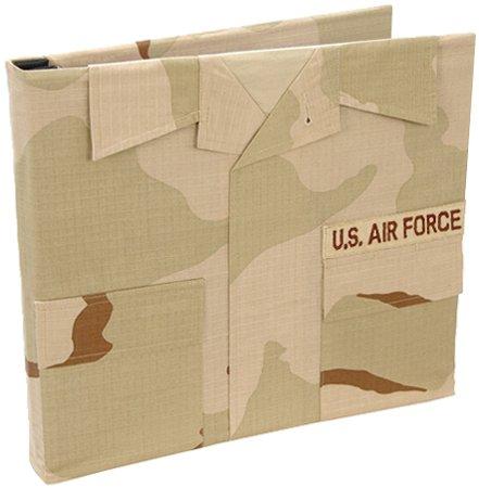 Uniformed U.S. Air Force Desert Combat Uniform Keepsake Album