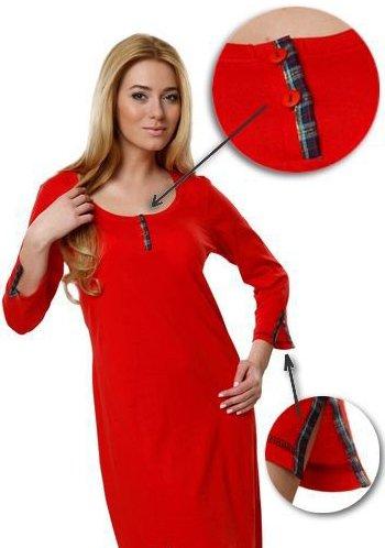 Women´s Nightwear / Cotton Nightdress - different colors - Made in EU