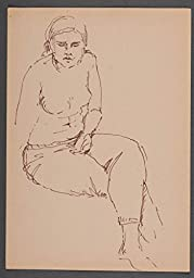 Graphic Portrait Of A Woman