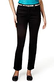 Per Una Roma Slim Leg Denim Jeans with Belt