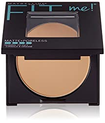 Maybelline New York Fit Me Matte Poreless Powder, Toffee 330, 9g