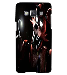 ColourCraft Scary Cartoon Design Back Case Cover for SAMSUNG GALAXY A5 A500F