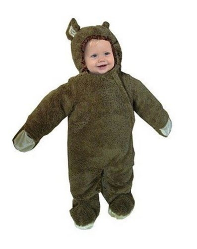 Infant Baby Monkey Bunting Dress-up Halloween Costume Size Medium 6-18 Months