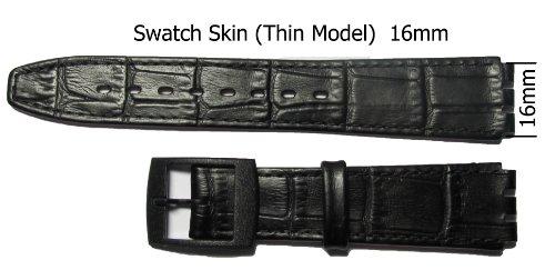 ersatz-schwarz-swatch-uhren-leder-kroko-haut-uhrenarmband-16-mm