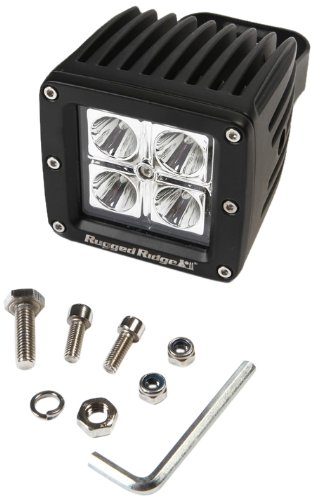 "Rugged Ridge 15209.03 16W 3"" Square Led Driving Light"