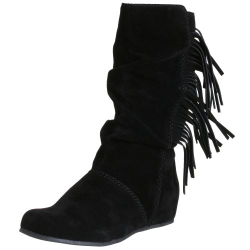 MIA Women's Taboo Fringed Flat Boot