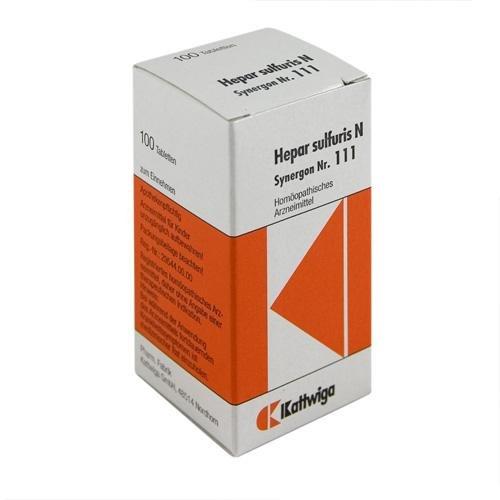 SYNERGON KOMPL HEP SU N111 100St Tabletten PZN:4905548
