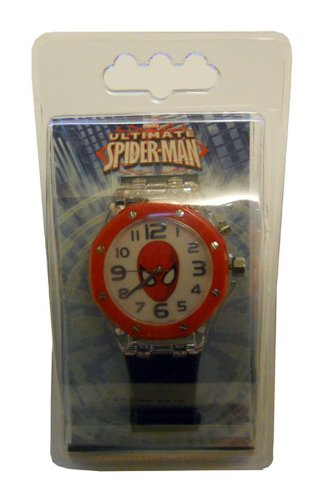 Spider-Man Analog Watch With Flashing Lights
