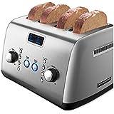 KitchenAid 4-Slice Toaster: Cocoa Silver