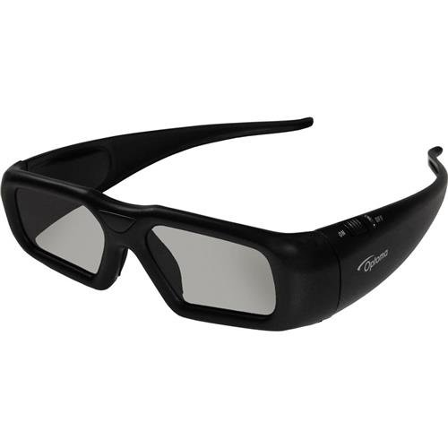 Optoma ZF2300GLASSES RF 3D Rechargeable Glasses for Projectors, Up to 50' Operational Range