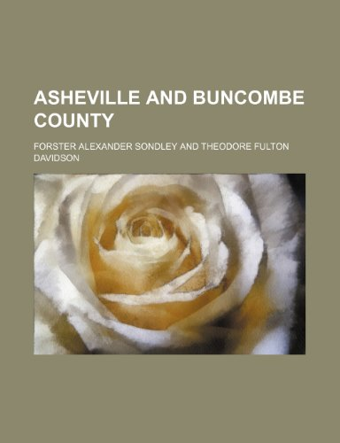 Asheville and Buncombe county