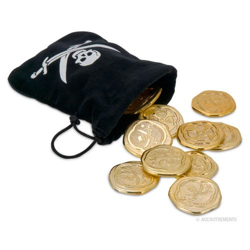 Pirate Coins And Pouch front-535835