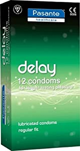 Pasante Delay Condoms x 12