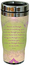 Tree-Free Greetings 77069 Dance Collectible Art Sip N Go Travel Tumbler, 16-Ounce, Stainless Steel, Multicolored
