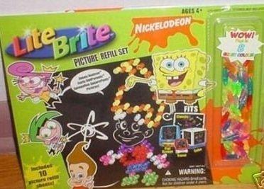 Nickelodeon Lite Brite Picture Refill Set - 1