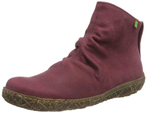 El NaturalistaN755 NIDO - Stivali classici imbottiti a gamba corta Donna , Rosso (Rot (Rioja)), 37 EU
