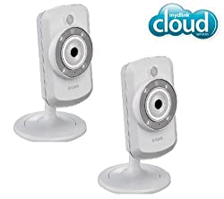 D-LINK Pack of Two DCS-942L Wireless-N IP Cameras