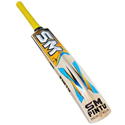 SM Wallop English Willow Bat, Short Handle