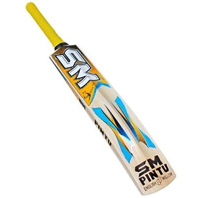 SM Wallop English Willow Bat, Short Handle