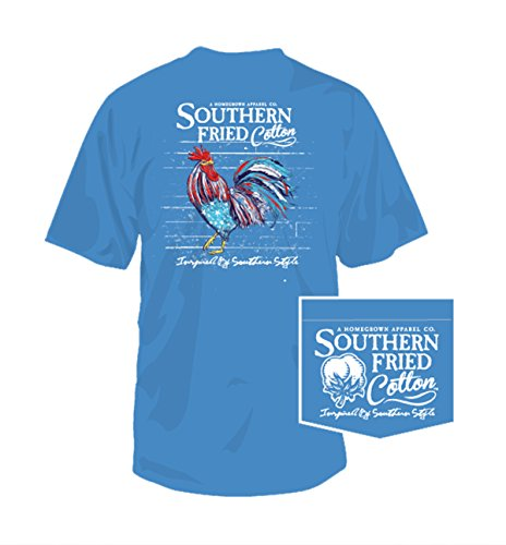 southern-fried-cotton-american-rooster-pocket-t-shirt-royal-caribbean-medium