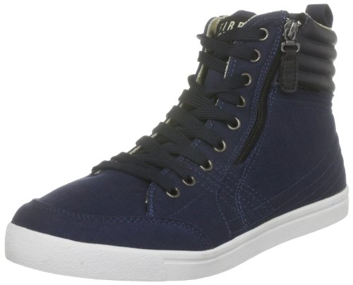 Firetrap Men's Desert Court Hi 2 Navy Fashion
