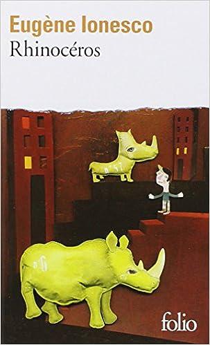 Resume du livre rhinoceros de ionesco