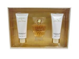 JENNI by Jenni Rivera for Women 3 Piece Set: 3.3 oz Eau de Perfume Spray + 3.3 oz Perfumed Body Lotion + 3.3 oz Perfumed Shower Gel