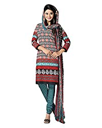 Clothing Deal Women's Crepe Georgette Unstitched Dress Material (Multi-Coloured)