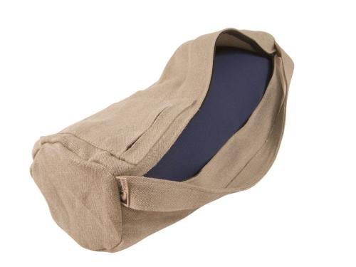 Yoga Matte Tasche Extra Groß Aufreißdeckel voller Reißverschluss 100% Organische Baumwolle Hergestellt in USA von Bean Produkte