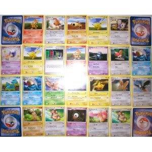 New 110 Bulk Collectible Pokemon Cards