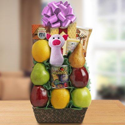 New Born Baby Gift Baskets